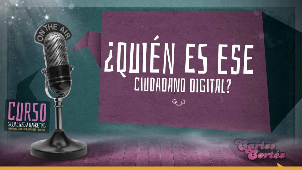 que es un ciudadano digital