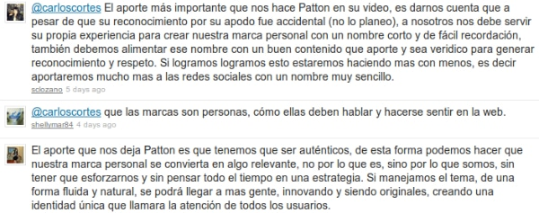 Patton y Daniel Ripe