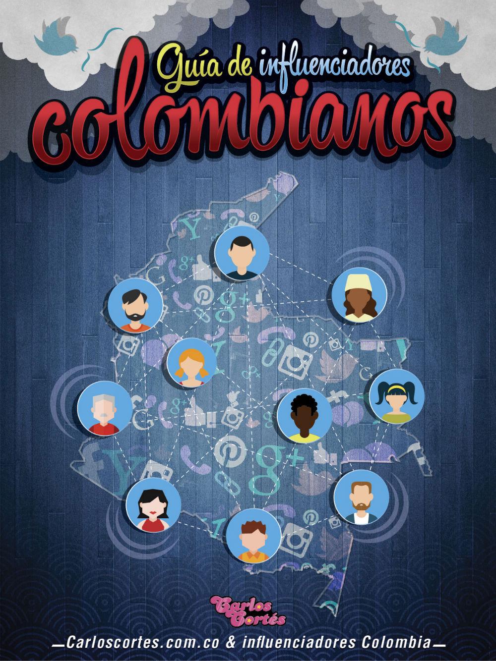 Portada Guía de Influenciadores Colombianos Carlos Cortés