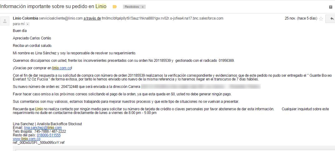 Lina Sànchez de Linio responde