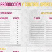 Control de producción y oportunidades