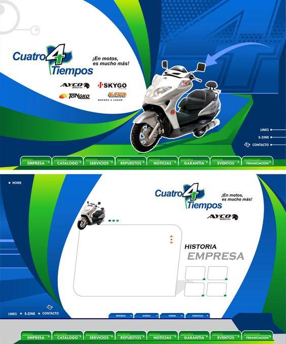 Cuatro Tiempos website