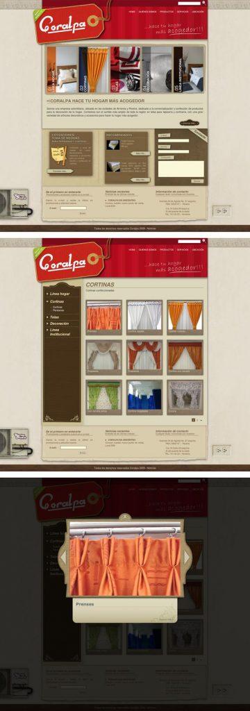 coralpa diseño de páginas web pereira