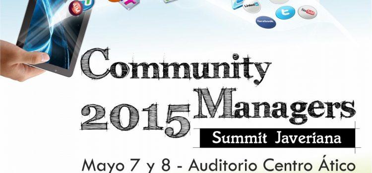 Carlos Cortés en el Community Managers Summit Javeriana 2015 (Bogotá)