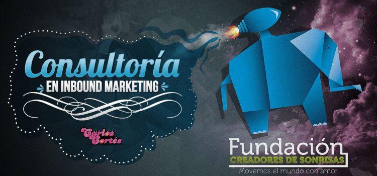 Consultoría en Inbound Marketing para Fundación Creadores de Sonrisas