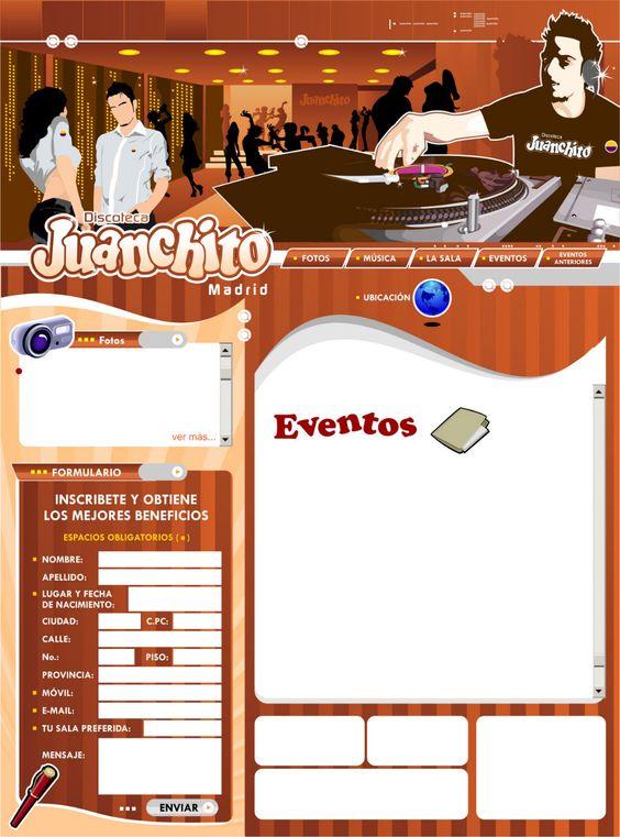 discoteca juanchito diseño de páginas web pereira