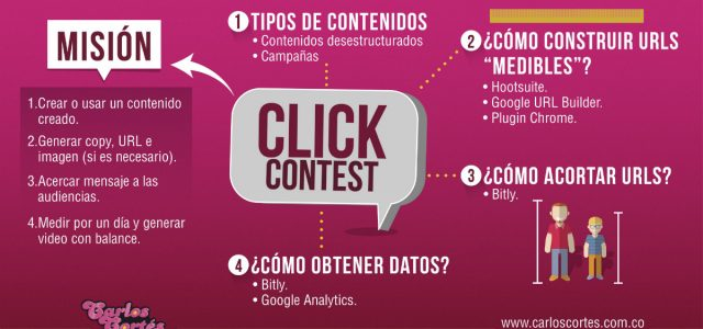 WhatsApp Groups. Reto: Click Contest