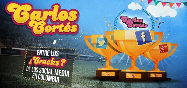 Carlos Cortés entre los ¿Cracks? de los Social Media en Colombia