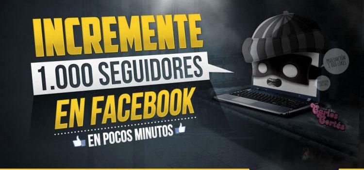 #ALIENADOSDIGITALES Incremente 1.000 seguidores en Facebook en pocos minutos