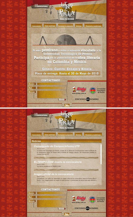 letras pereira diseño de páginas web pereira