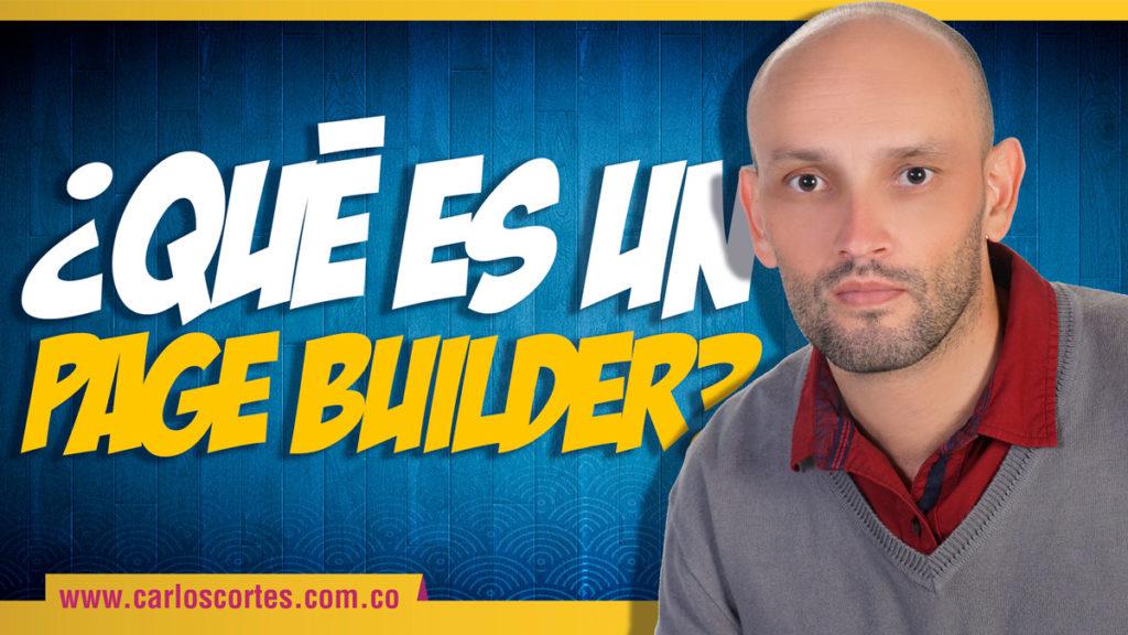 Qué es un page builder
