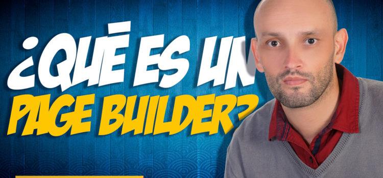 ¿Qué es un page builder?
