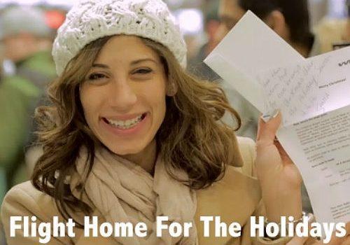 BTL en Navidad: Línea aérea cambia equipajes por regalos