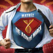 El termómetro de la Matriz de ADN de marca