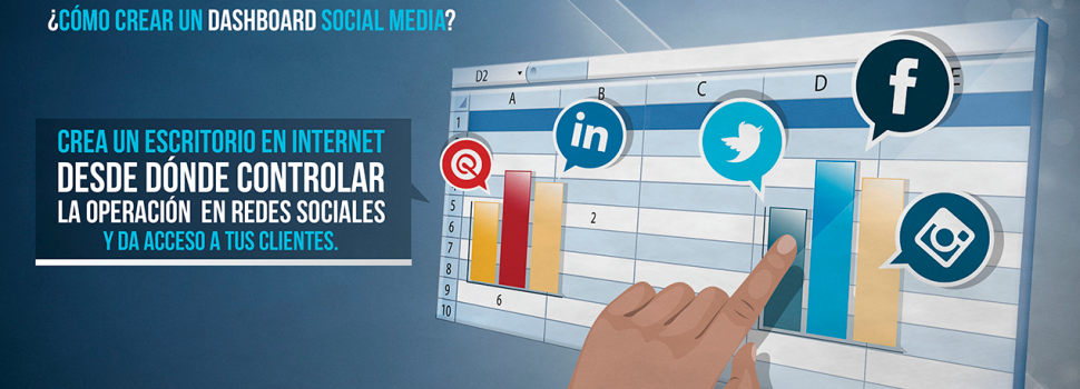 ¿Cómo crear un dashboard social media?