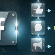 Pesos de las interacciones en Facebook
