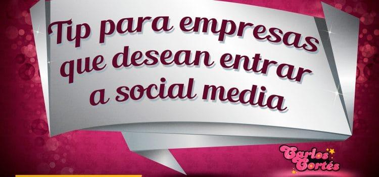 Noticias UNOA. Consejo para las compañías que desean entrar a Social Media