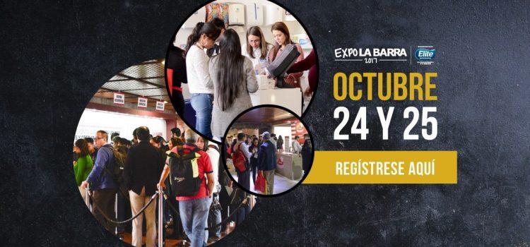 Carlos Cortés con el Taller de Seducción en Expo La Barra 2017