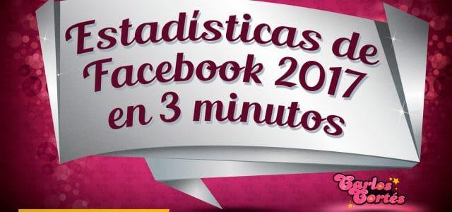 Las cifras de Facebook para el 2017 en 3 minutos
