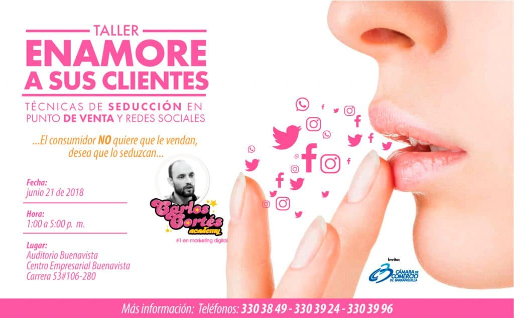 Speaker Taller de Marketing