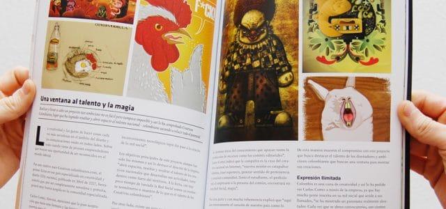 Revista chilena destaca a Creativos Colombianos