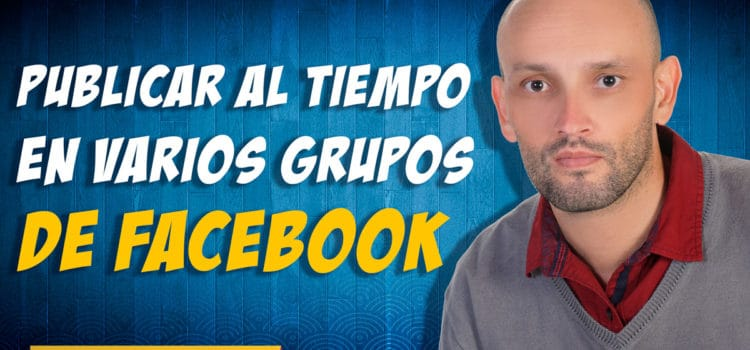Publicar en varios grupos de Facebook a la vez usando CM Metrix