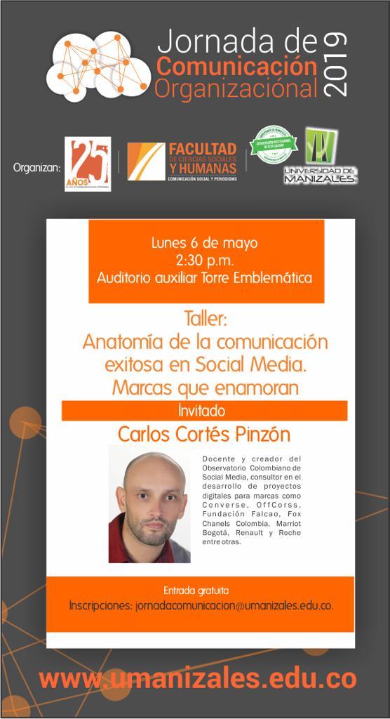Carlos Cortés speaker