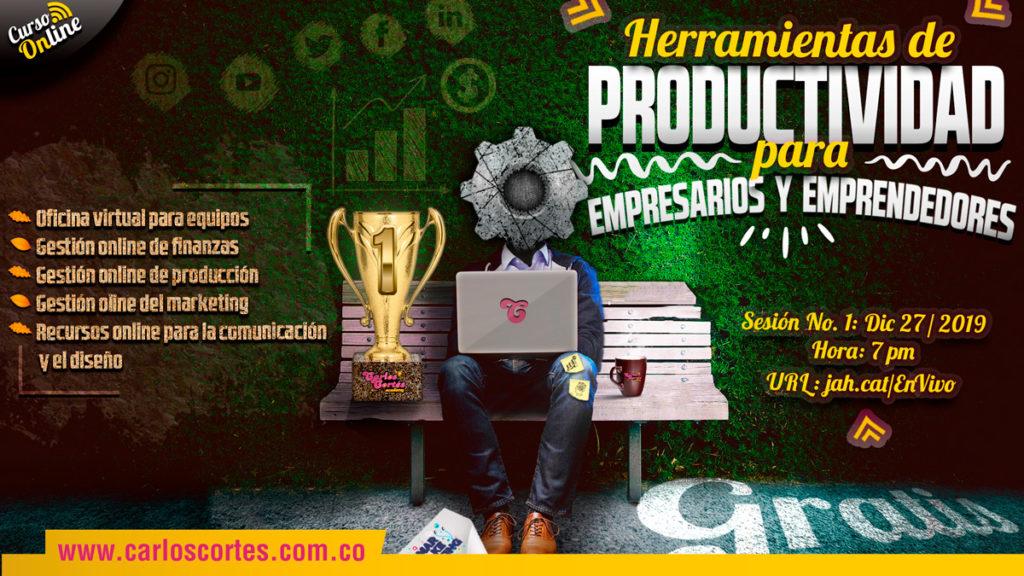 Herramientas de productividad para empresarios y emprendedores