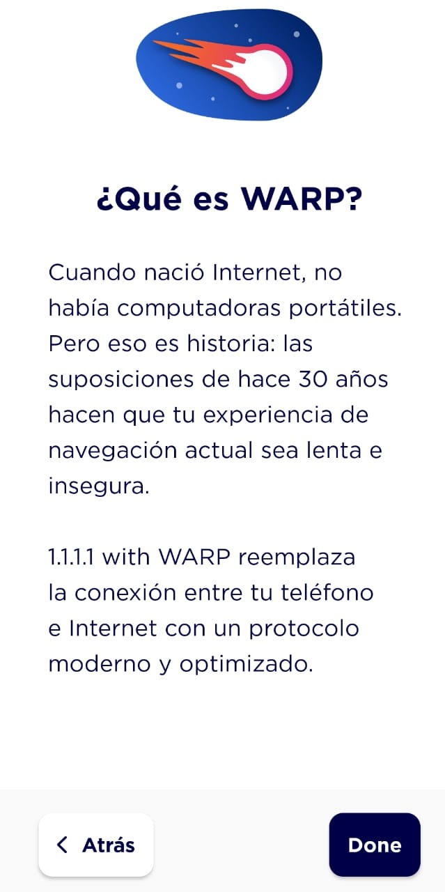 Configurando Warp de Cloudflare