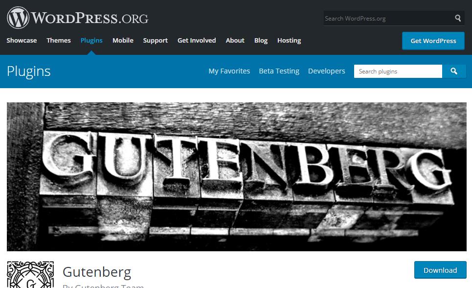 Gutenberg Page Builder WordPress
