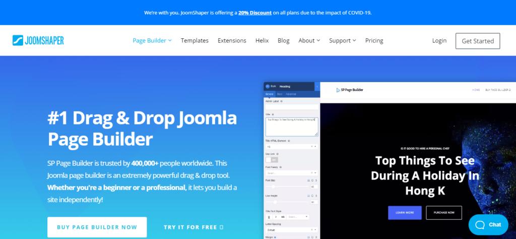 SP Page Builder Joomla y WordPress Carlos Cortés