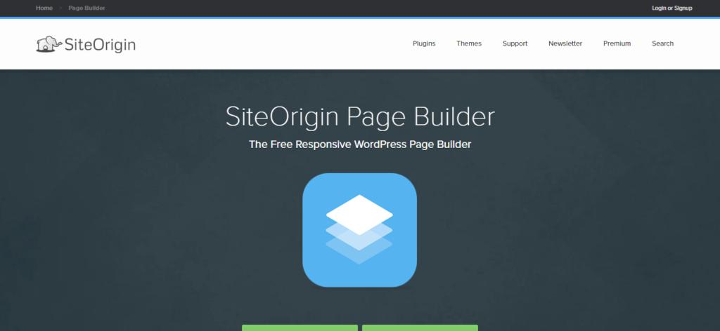 Siteorigin Page builder Carlos Cortés Agencia