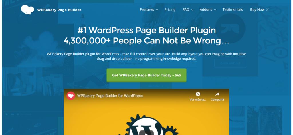 como usar wpbakery page builder Carlos Cortés